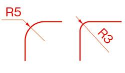 半径(Radius)/R(アール)例