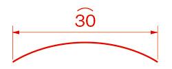 円弧の長さ/︵(エンコ)例