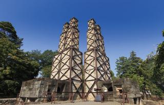 世界文化遺産の韮山反射炉