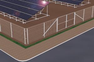 杭基礎フェンスシステム